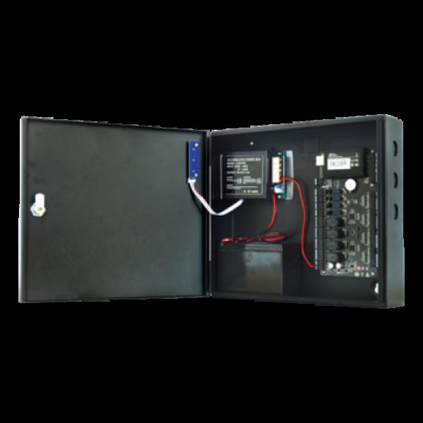Cabinet echipat pentru centralele de control acces - ZKTeco CAB-C3-5B