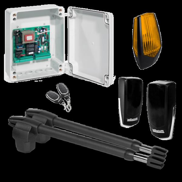 Kit automatizare poarta batanta 2x4m -MOTORLINE LINCE600-KIT