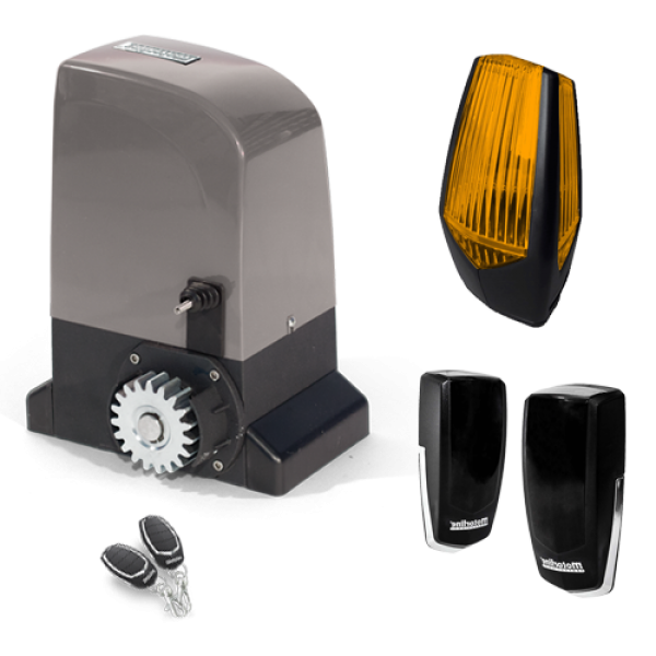 Kit automatizare poarta culisanta 500KG - MOTORLINE BRAVO500-KIT