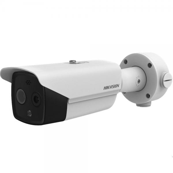 Camera de supraveghere IP Bullet, 4MP, IR 40m, 6mm, Termica, Hikvision DS-2TD2617B-6/PA