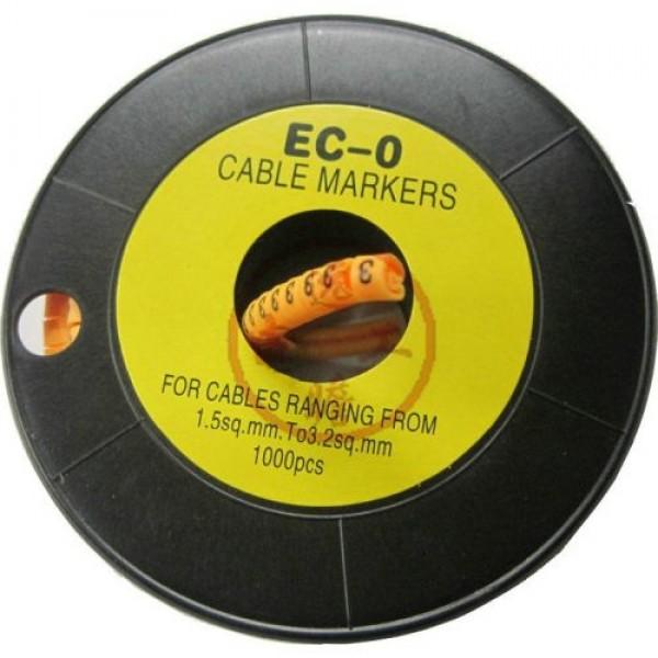 Accesoriu supraveghere PXW Rola marcare cablu de 3.6 - 7.4mm