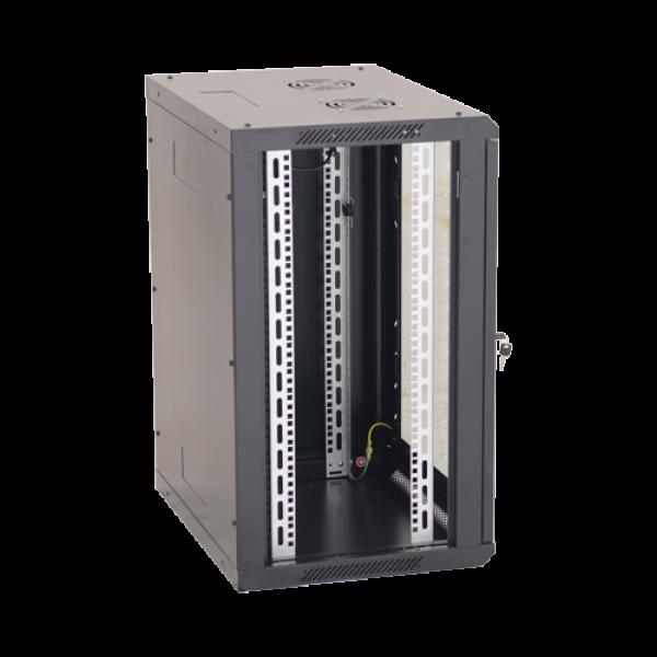 Rack perete 15U 19'' 600x450, negru - ASYTECH Networking ASY-15U-6045W