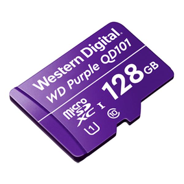 Card MicroSD 128GB, seria Purple Ultra Endurance - Western Digital WDD128G1P0C