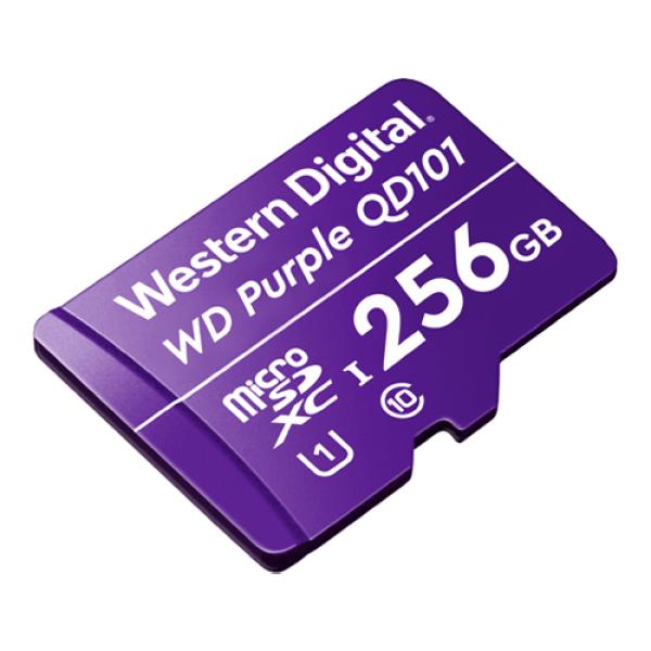 Card MicroSD 256GB, seria Purple Ultra Endurance - Western Digital WDD256G1P0C