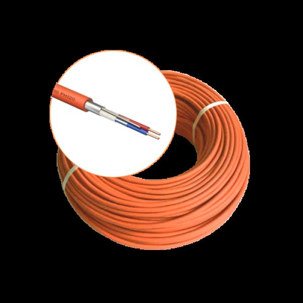 Cablu incendiu JE-H(St)H FE 180 E30/E90, 1x2x08 ecranat, 100m - EuroClass MEK90-1x2x08