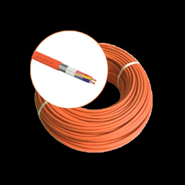 Cablu incendiu JE-H(St)H FE 180 E30/E90, 2x2x08 ecranat, 100m - EuroClass  MEK90-2x2x08