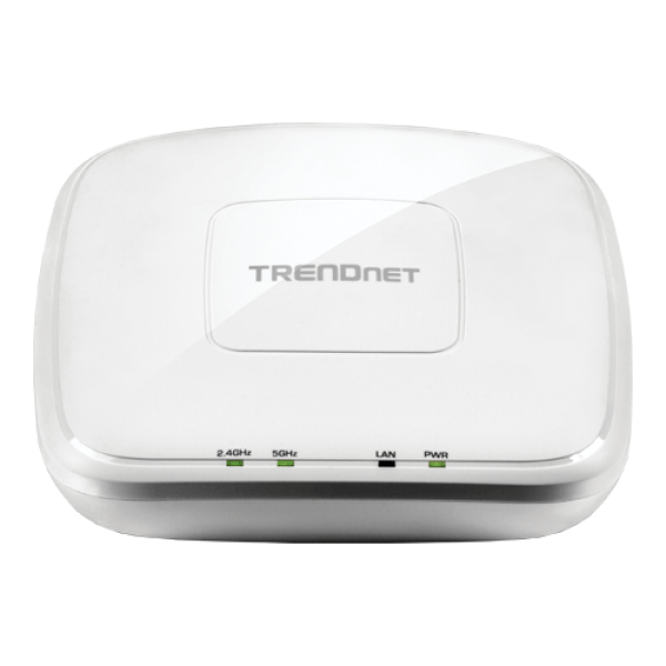 Access Point Wireless AC1750 Dual Band PoE+ de interior - TRENDnet TEW-825DAP