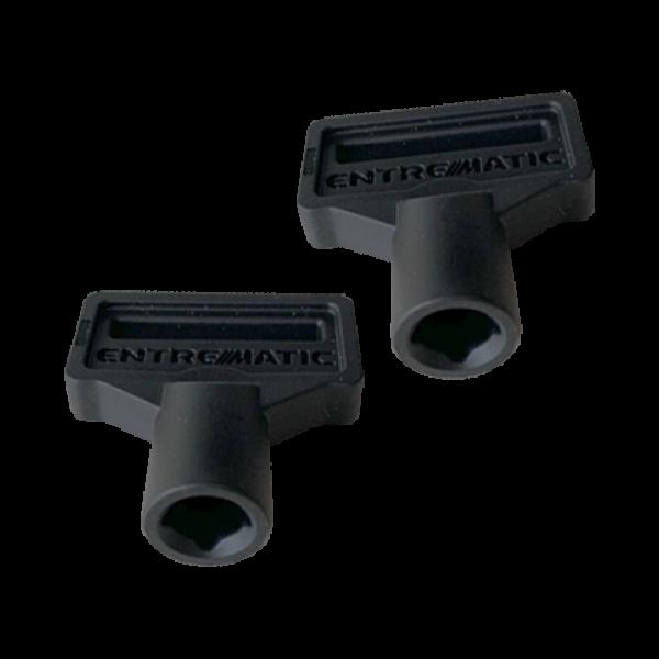 Set 2 chei deblocare manuala automatizari PWR - DITEC 6PWRK
