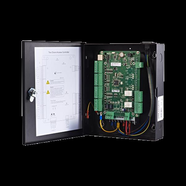 Centrala de control acces pentru 2 usi bidirectionala, conexiune TCP/IP - HIKVISION DS-K2802