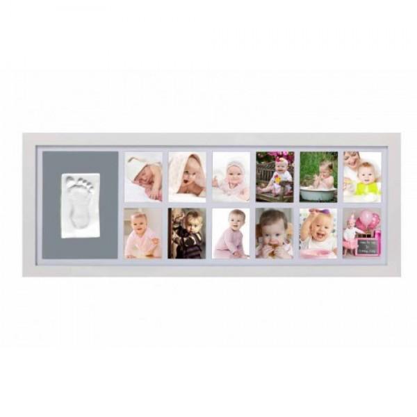 Adora - Kit rama foto cu amprenta mulaj manuta sau piciorus - Baby's First Year