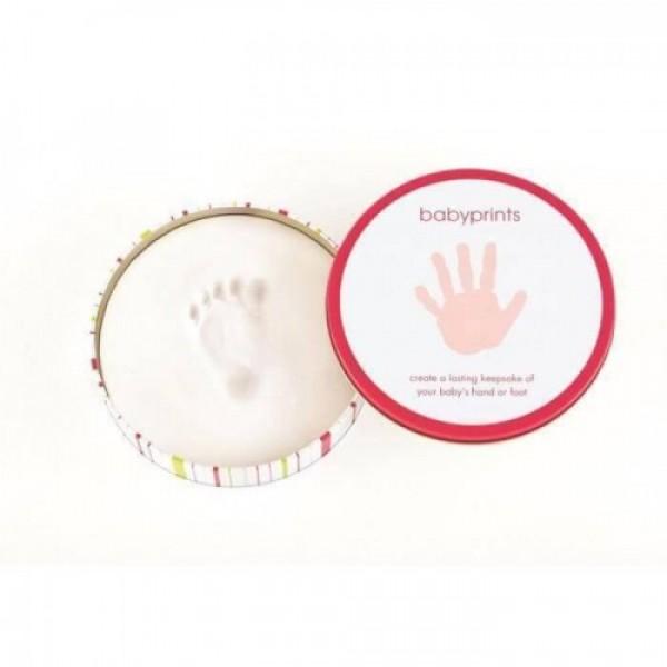 Pearhead - Cutiuta rotunda pentru mulaj manuta sau piciorus - roz inchis