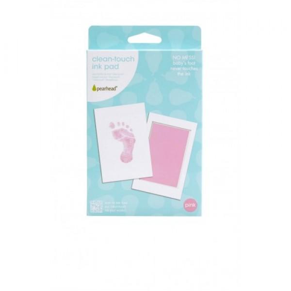 Pearhead - Kit amprenta cu cerneala pentru piciorus - roz