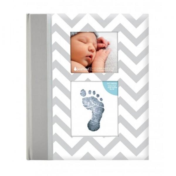 Pearhead - Caietul bebelusului cu amprenta cerneala