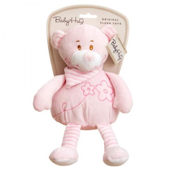 Baby Hug - Ursulet roz moale din plus
