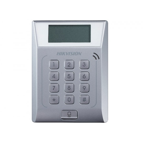 Cititor control acces stand alone DS-K1T802M, LCD