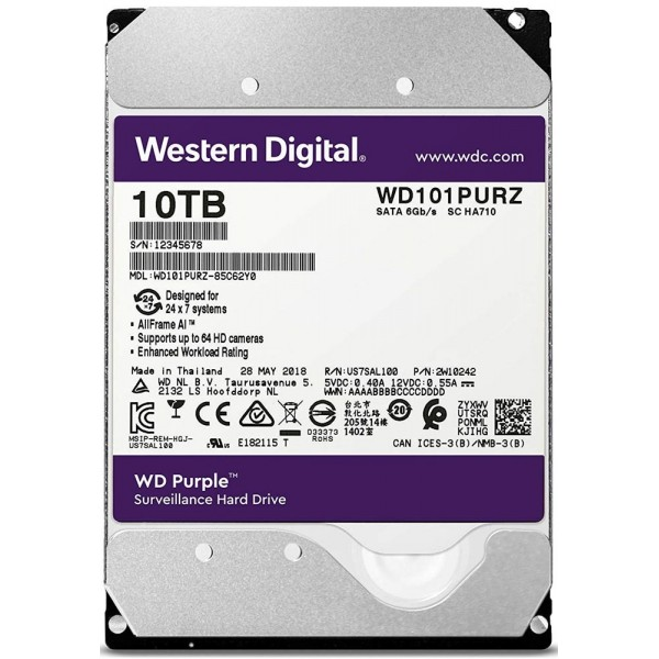 10TB WD Purple SPECIAL, PURPLE 10TB