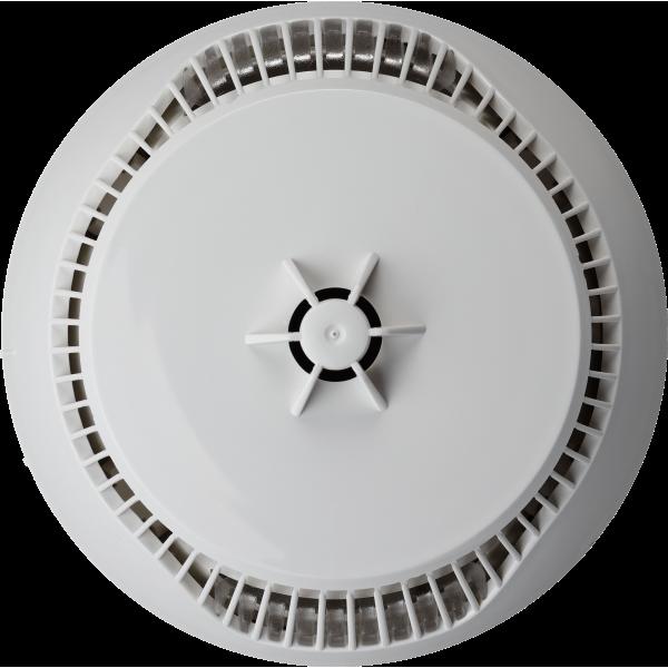 Detector analog adresabil combinat optic de fum si temperatura, M140
