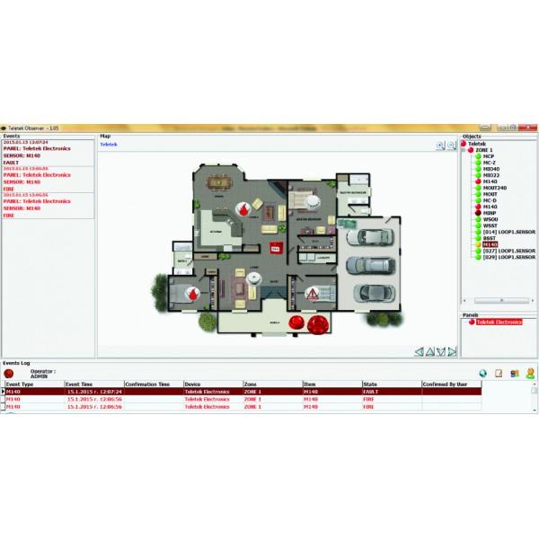 Software monitorizare centrale IRIS, Observer