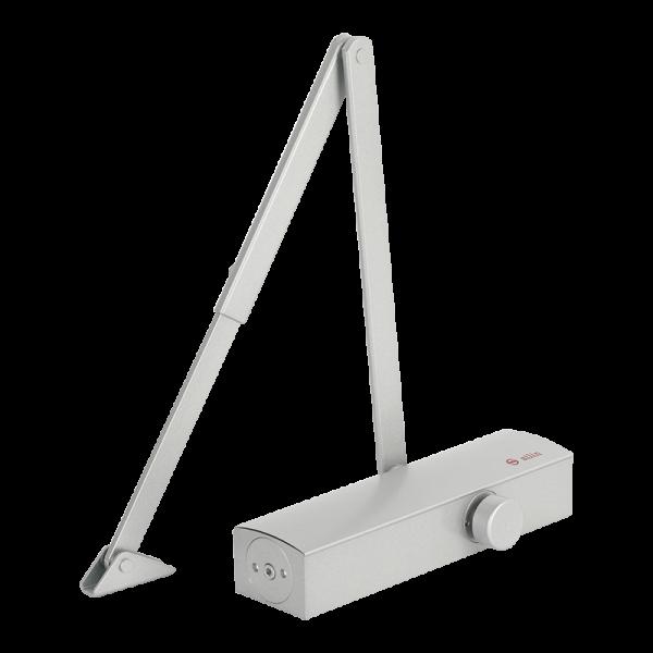 Amortizor hidrauilic cu brat pentru usi de la 25kg la 120kg