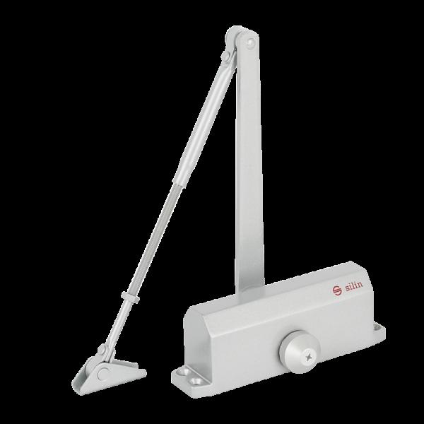 Amortizor hidrauilic cu brat pentru usi de la 40kg la 65kg