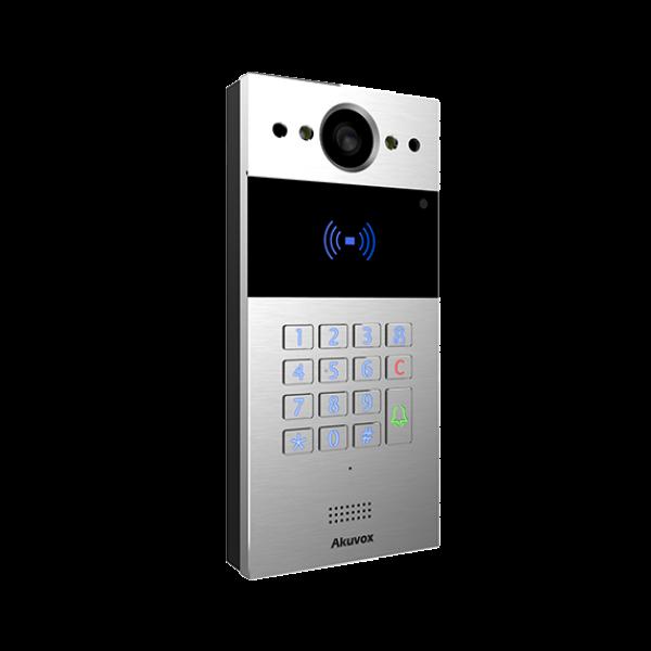 Video interfon IP SIP, post de apel cu tastatura numerica