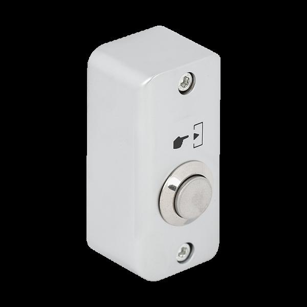 Buton de iesire aplicabil, din aliaj de zinc, pentru exterior, IP65