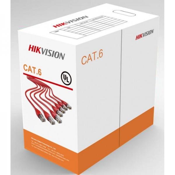Cablu UTP CAT6 Hikvision DS-1LN6-UU
