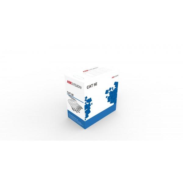 Cablu U/UTP Cat.5e Hikvision, cutie 305 m, DS-1LN5E-E/E