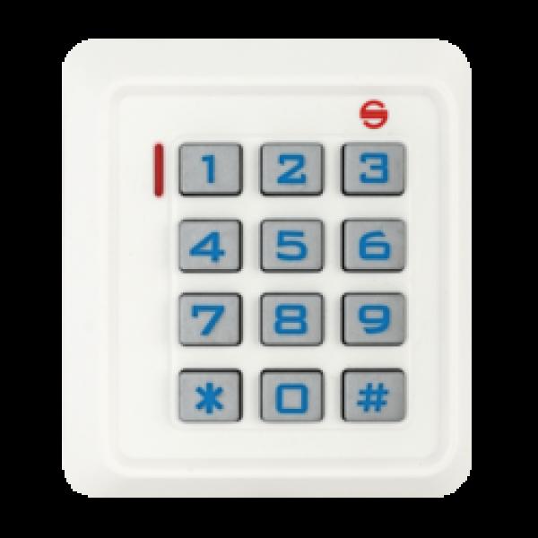 Controler de acces standalone cu tastatura si cititor de carduri EM 125kHz