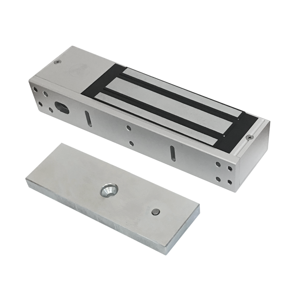 Electromagnet aplicabil cu forta de retinere de 500 kg, cu monitorizare si LED