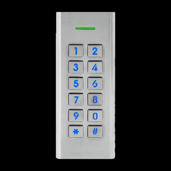 Controler stand-alone antivandal de exterior cu tastatura iluminata