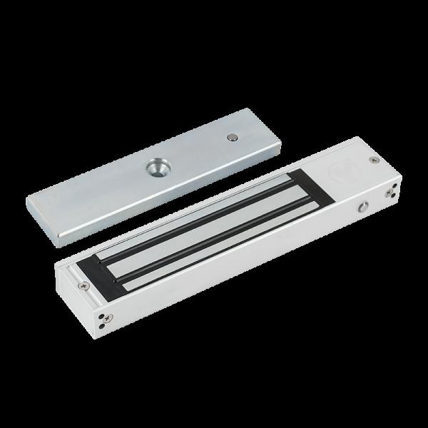 Electromagnet aplicabil cu forta de retinere de 350kg, cu monitorizare si LED de stare