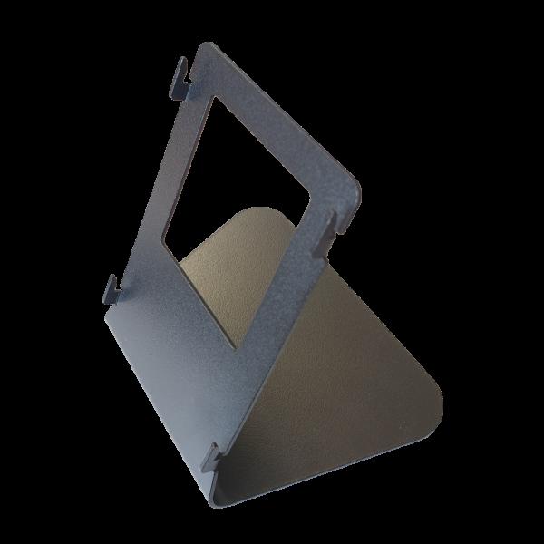 Suport negru pentru montarea pe birou a videointerfoanelor IP din seria C313 si C315, monitoare cu diagonala de 7''