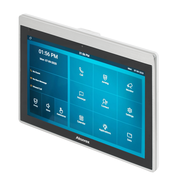 """Video interfon IP SIP, monitor 10"""", Voice Assistant, Android, WiFi, bluetooth, camera video, alimentare POE"""