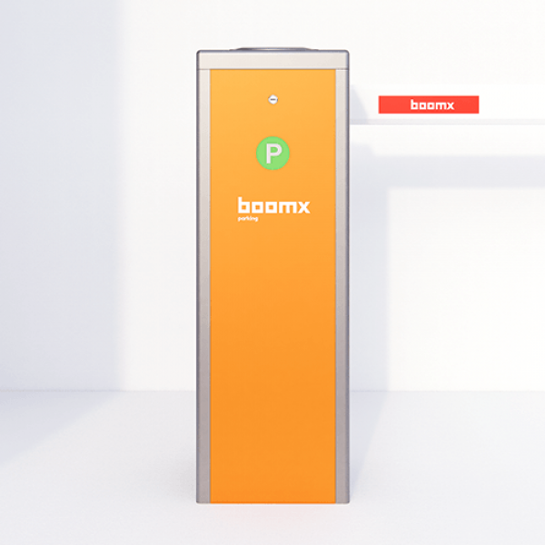Corp bariera acces auto, brat maximum 6 metri, cu servomotor, portocaliu, Boomx