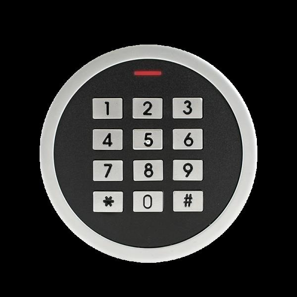 Controler de acces stand-alone cu tastatura si cititor de carduri EM (125kHz), antivandal, rezistent la apa