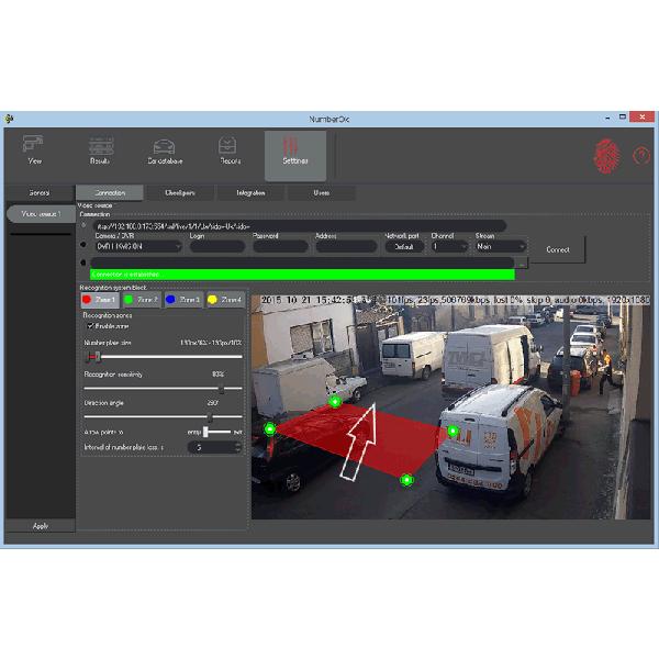 Software PC recunoastere numere de inmatriculare si control acces