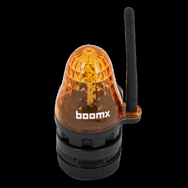 Lampa de semnalizare cu LED si antena radio