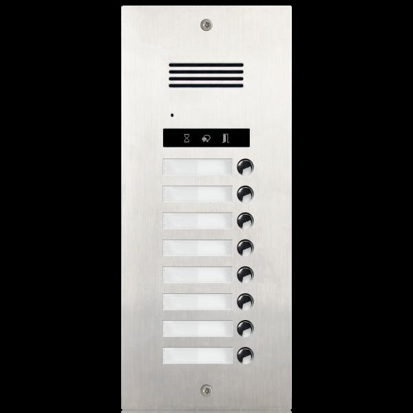 Panou de apel audio cu  8 butoane de apel