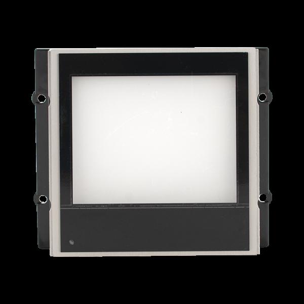 Modul afisaj INFO iluminat  pentru posturile de apel modulare DT 821 cu comunicatie pe 2 fire.