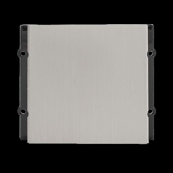 Modul BLANK fata metalica  pentru posturile de apel modulare DT 821 cu comunicatie pe 2 fire.