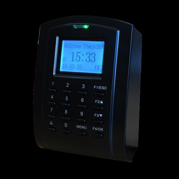 Controler stand-alone cu pontaj, tastatura si cititor de proximitate incorporat (125KHz)