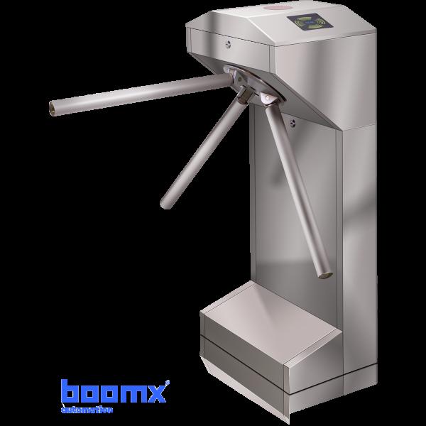 Turnichet bidirectional semiautomat din inox