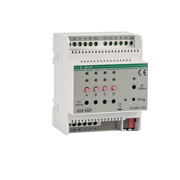 Actuator 4 canale LED cu dimmer