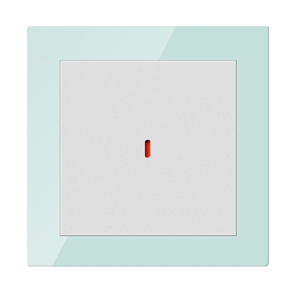 Comutator inteligent - 1 canal, din sticla