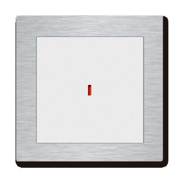 Comutator inteligent metalic - 1 canal
