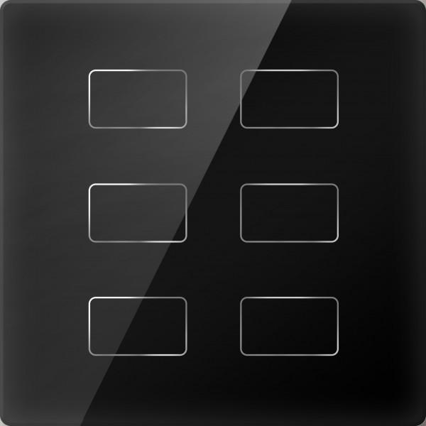 Comutator inteligent cu touch - 6 butoane
