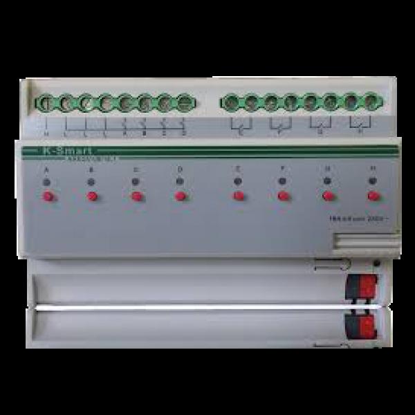 Actuator switch cu 8 canale, 16A