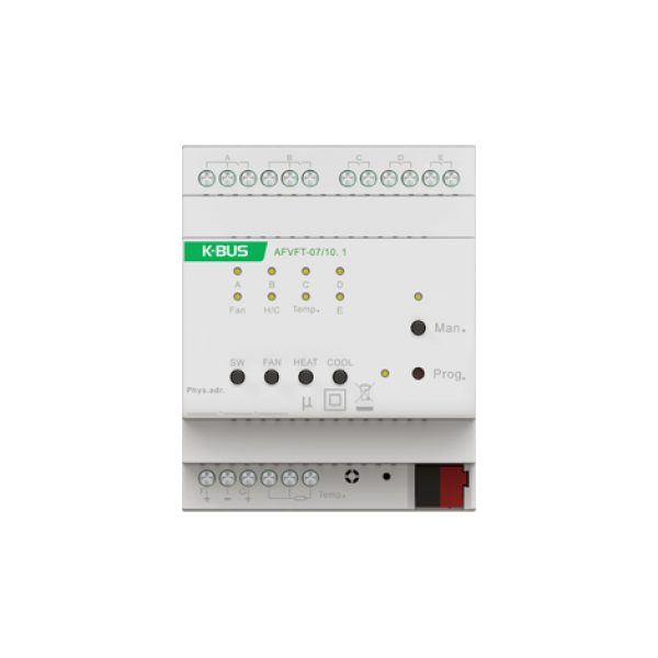 Actuator ventilator 0-10V - 3 trepte