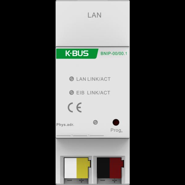 Interfata de comunicatie intre instalatii KNX si retele IP